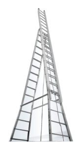 Tower extendable ladder